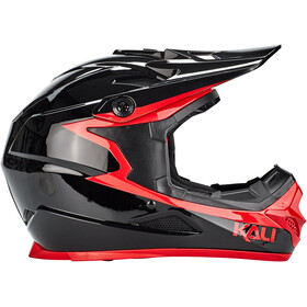 Kali Zoka Casque Homme, black/red